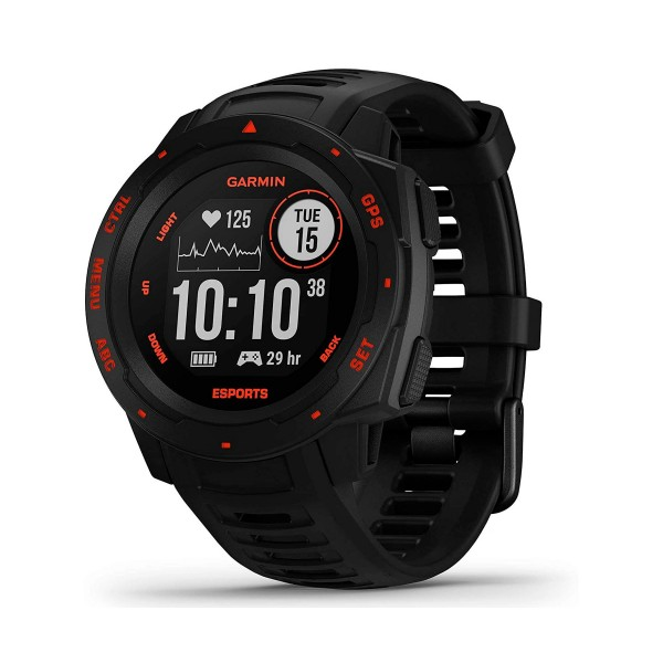 Garmin instinct esports edition 45mm smartwatch resistente para gamers