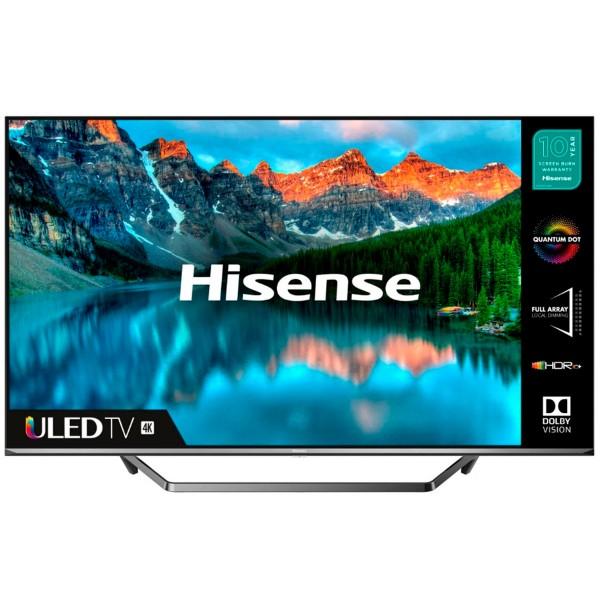 Hisense h65u7qf televisor 65'' smart tv uled 4k uhd hdr 2500pci ci+ hdmi usb bluetooth
