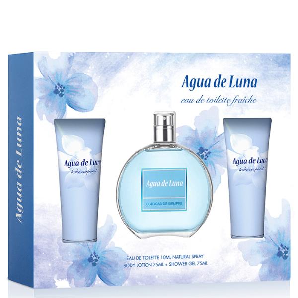 Agua de Luna set Mujer Loción Corporal 75 ml + EDT 100 ml