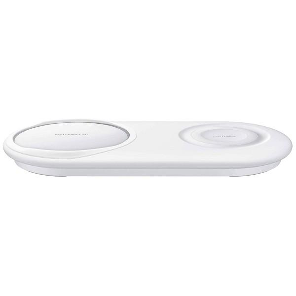 Samsung ep-p5200twegww blanco wireless charger cargador inalámbrico qi carga rápida